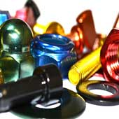 Coloured Stainless Steel Fasteners